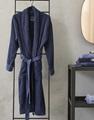 Connect Organic Uni Blue badjas