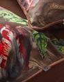 Giselle Chocolate kussensloop satijn