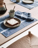 Lovon Smoke Blue Napkin-2