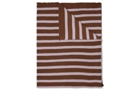 Structure Knit Toffee Brown plaid