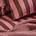 Nordic Knit Ash Rose plaid