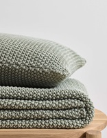 Nordic Knit Garden Green plaid-2
