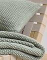 Nordic Knit Garden Green plaid