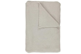 Afbeelding van Nordic Knit Oatmeal plaid