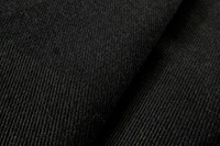 Zwarte gabardine