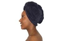 Antraciet haarhanddoek