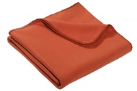 Cinnamon fleece plaid