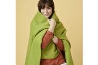 Leaf Green fleece plaid-2