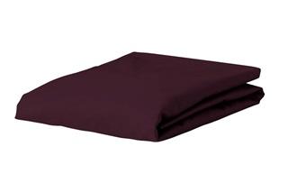 Afbeelding van Burgundy hoeslaken jersey