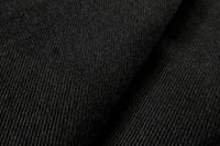 Zwarte gabardine (SALE)