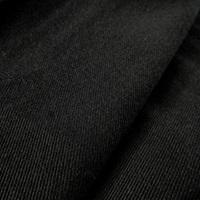 Zwarte gabardine (SALE)-2