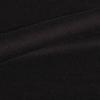 Jet Black french terry-2